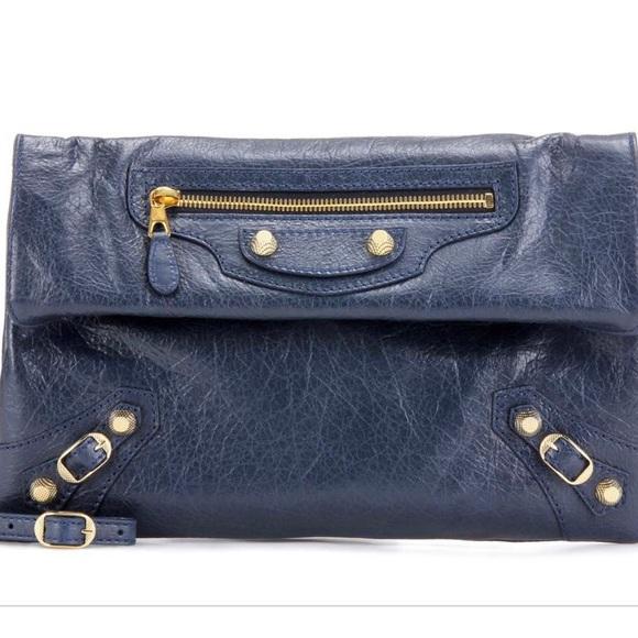 Balenciaga Handbags - Balenciaga Giant City Envelope Clutch